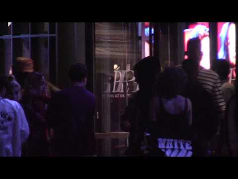 Kendall jenner and Blake Griffin leave a movie theater in NYC