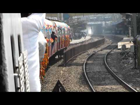 Last DC EMU: Charni Road-Marine Lines