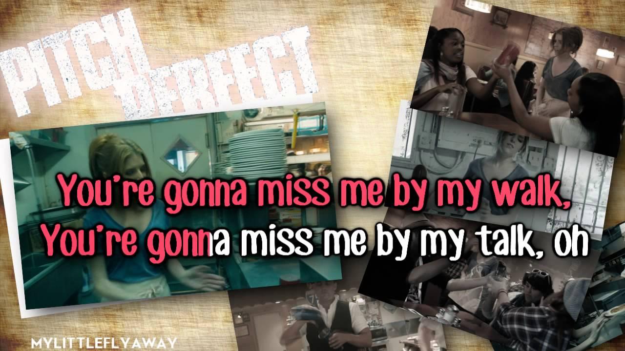 Anna Kendrick Cups When I M Gone Karaoke Instrumental Youtube