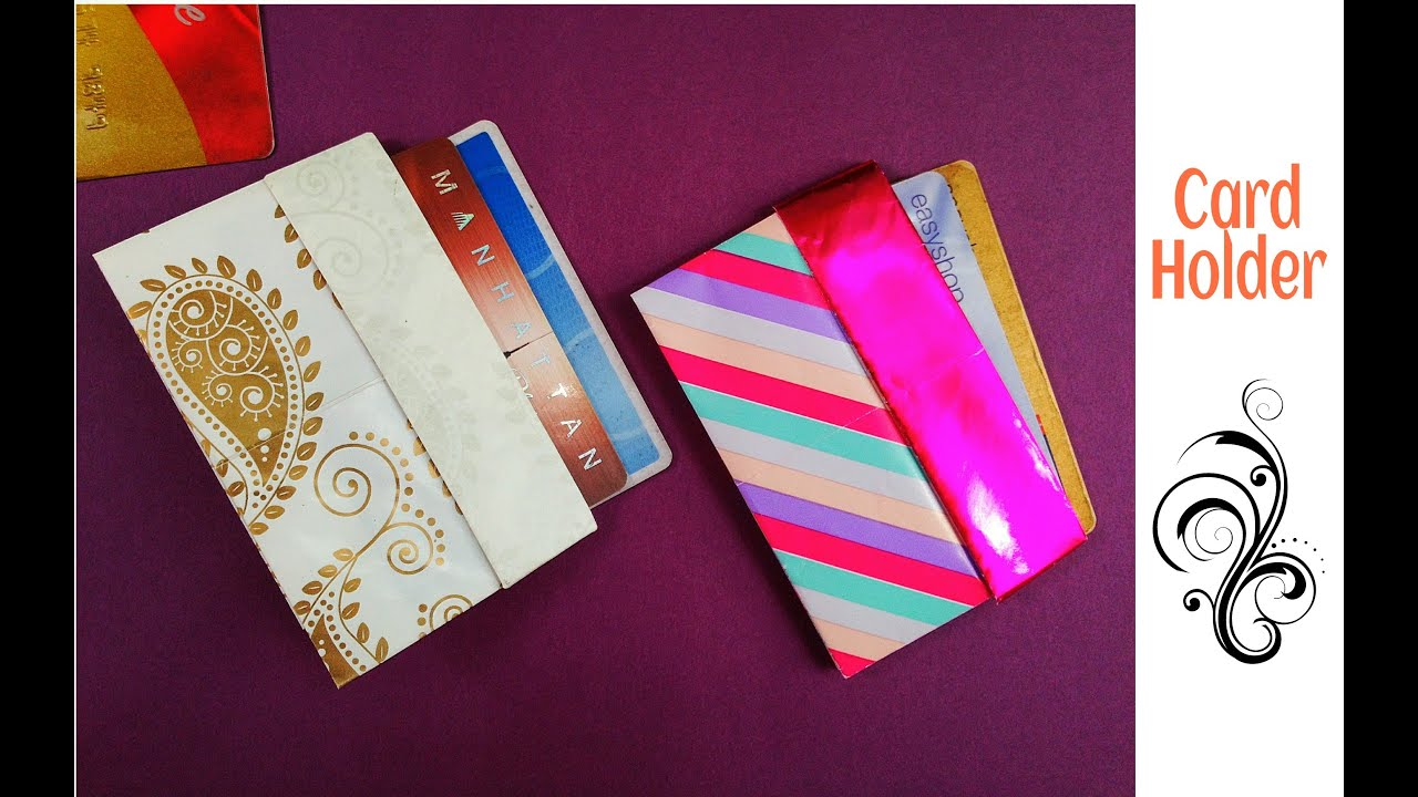 Credit  Business card HolderCaseWallet  DIY  Useful Origami  YouTube