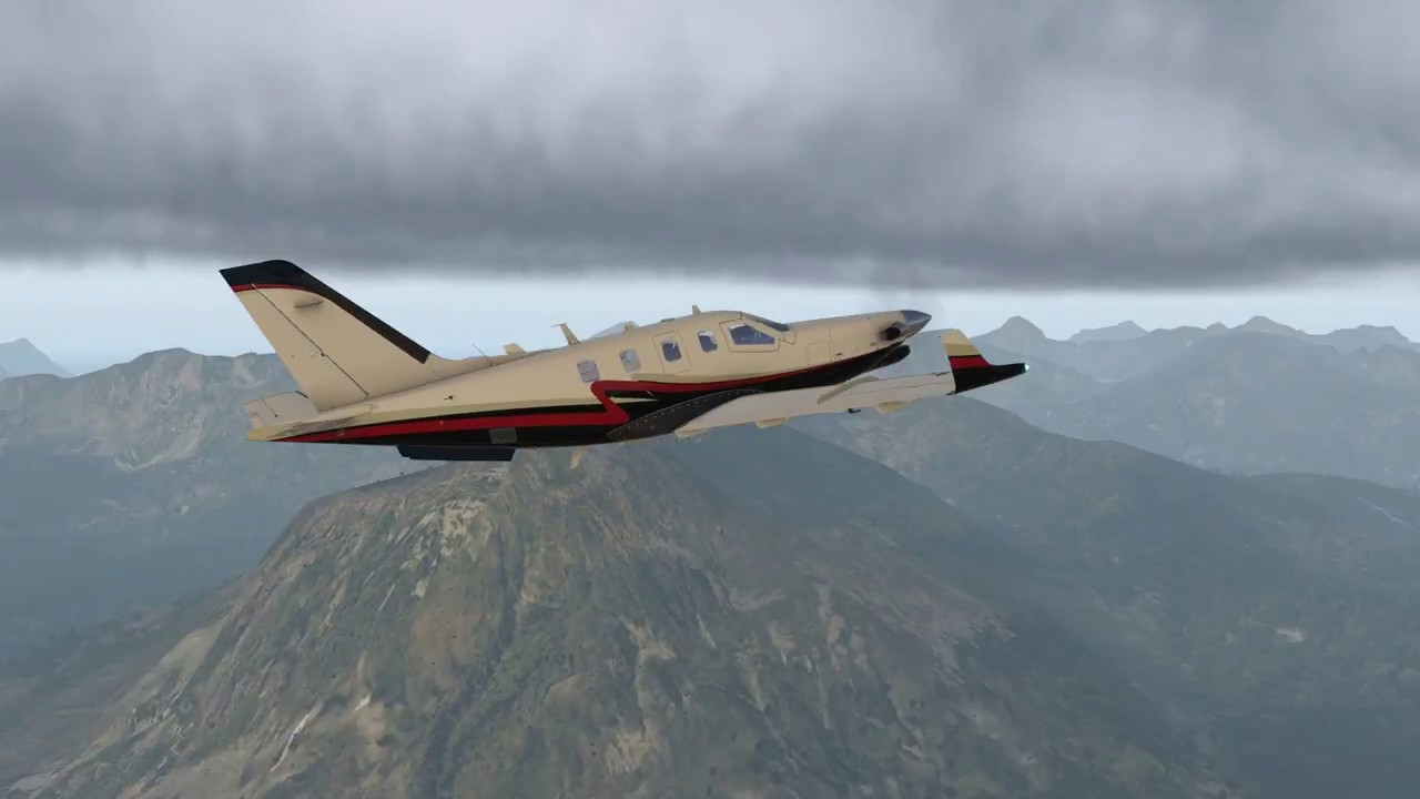 X-Plane 11: TBM900 icing conditions over Norway by Georg Naujoks