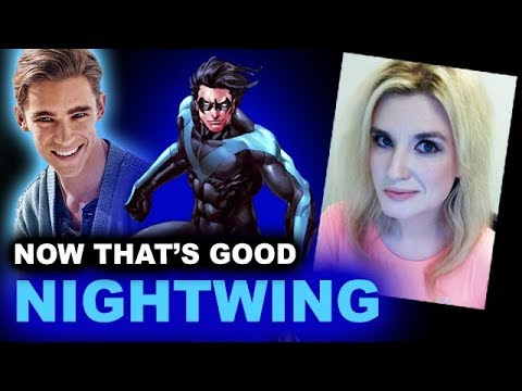 Brenton Thwaites is Nightwing  Titans DC TV