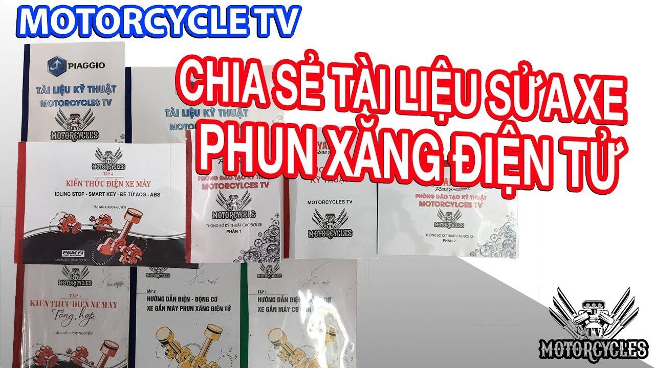 Video 102: Công Bố Tài Liệu Sửa Xe Máy Tổng Hợp, Và Lời Cảm Ơn | Motorcycles TV