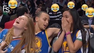 NEW Stephen Curry FUNNY MOMENTS 2018