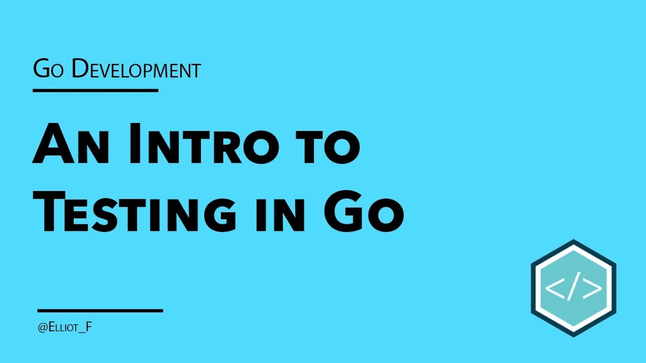 An Introduction to Testing in Go | TutorialEdge net