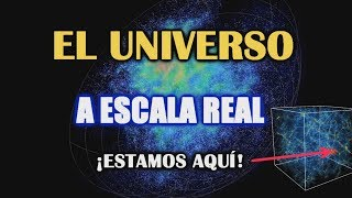 ¿Qué tan grande es el Universo? Mapa y Tamaño del Universo