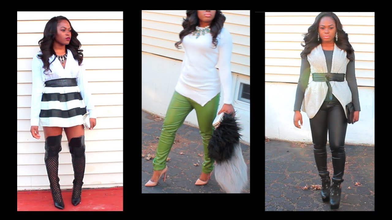 - New Year's Eve Outfit Ideas - YouTube