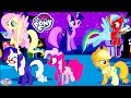 My Little Pony Mane 6 Transforms Color Swap Princess Celestia Surprise Egg and Toy Collector SETC