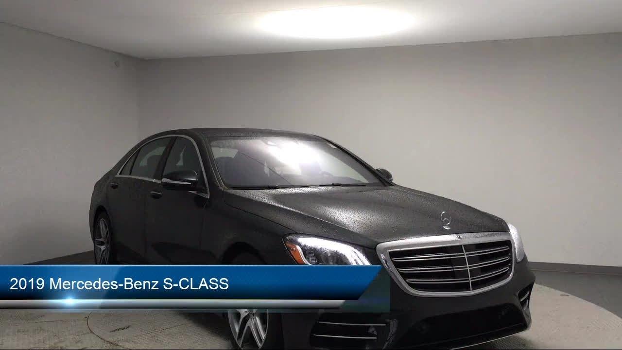 2019 Mercedes-Benz S-CLASS Des Moines Urbandale Newton ...