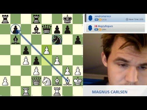 CAMPEÓN MUNDIAL vs CAMPEÓN ARGENTINO: Carlsen vs Mareco (ajedrez online)