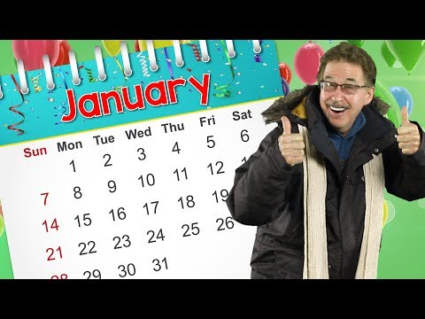 January | Calendar Song for Kids | Jack Hartmann