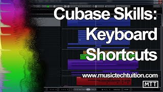 Cubase Skills Keyboard Shortcuts