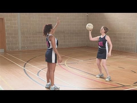 How To Practice Passing in Netball - YouTube