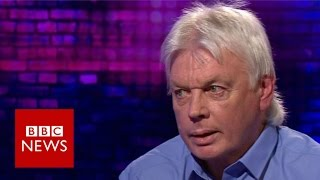 David Icke talks conspiracy theories - BBC News