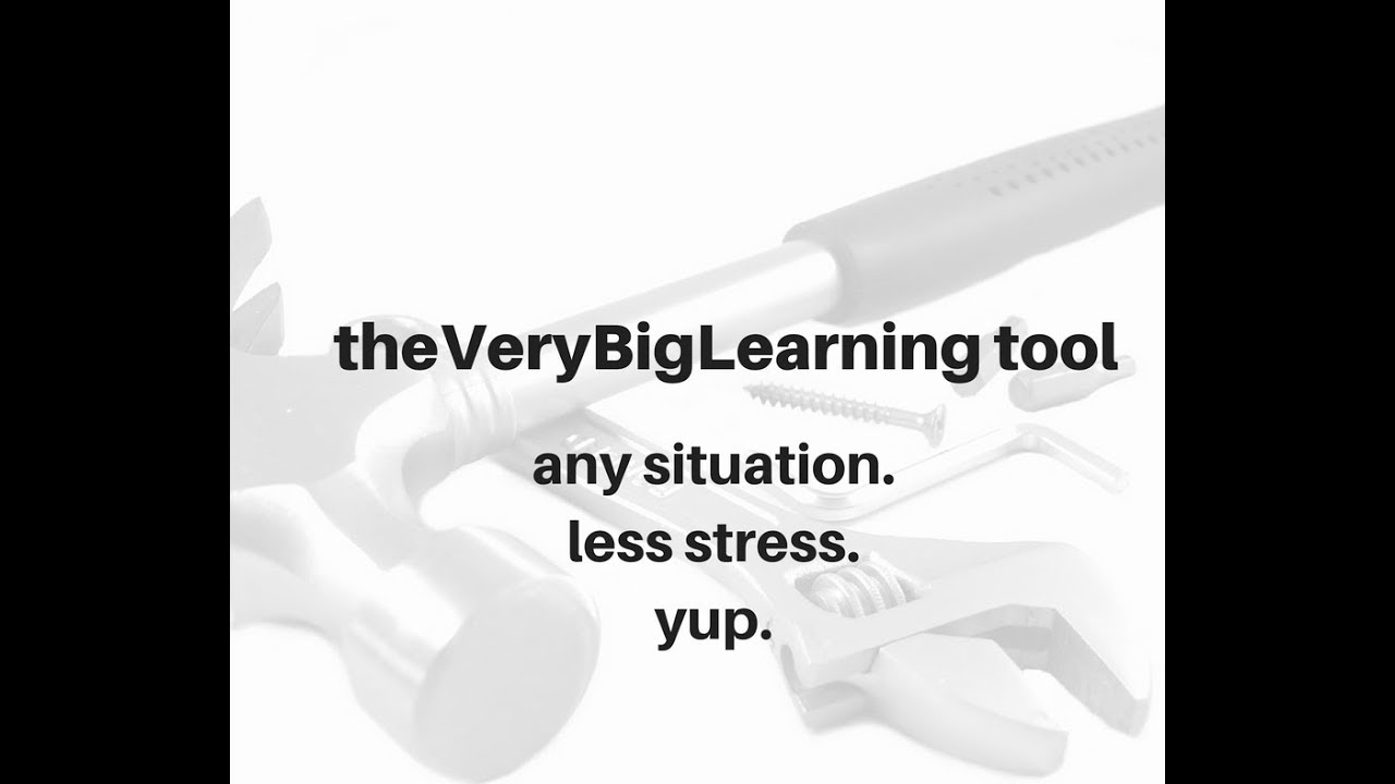 the VeryBigLearning tool