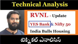 technical analysis of yes bank rvnl indiabulls housing finance టెక్నికల్ ఎనాలిసిస్  trading marathon