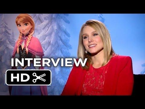 Frozen Interview - Kristen Bell (2013) - Disney Animated Movie HD