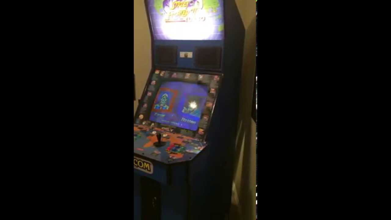 Checking Out The Super Street Fighter Ii Turbo Arcade Cabinet New
