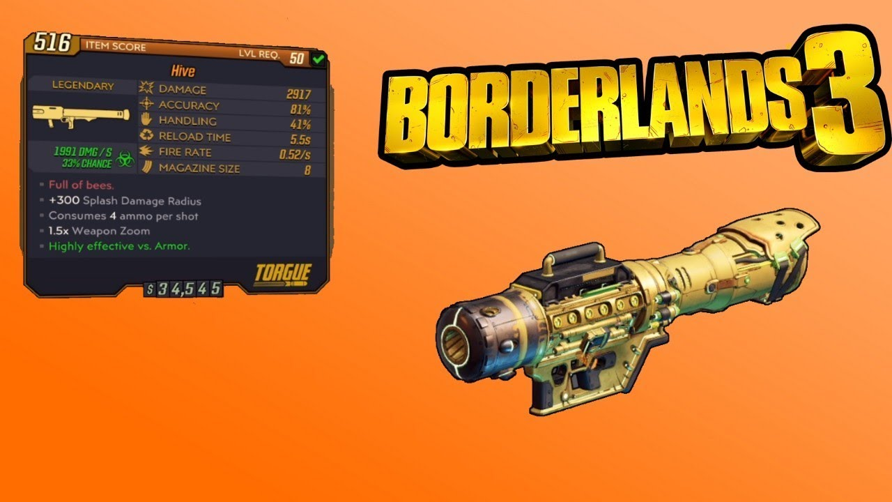 the hive borderlands 3