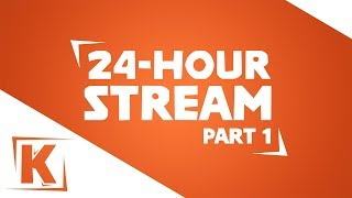 24 Hour Stream!  Come Hang out With Us - Mario Maker, Mario Kart, Smash Ultimate and More!