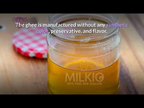 Ghee manufacturing process