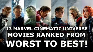 13 Marvel Cinematic Universe Movies Worst to Best - Ranked #5