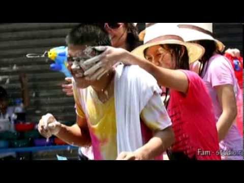 Сонгкран - забавный тайский новый год