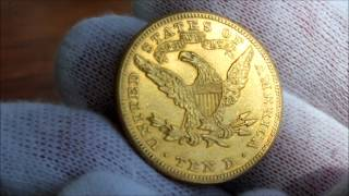 "1900 Gold United States Ten Dollar Coin, ""Eagle"""