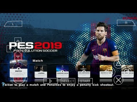 PES 2019 PPSSPP English Version Android Offline 900MB Best Graphics New Kits & Transfers Update