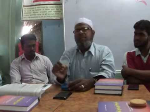 Tamil Islam Convert Rev.பாஸ்டர் கிருஸ்துராஜ் என்ற M C முஹம்மது Way to Paradise Class