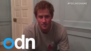 Prince Harry reveals a secret about himself for the #FeelNoShame campaign