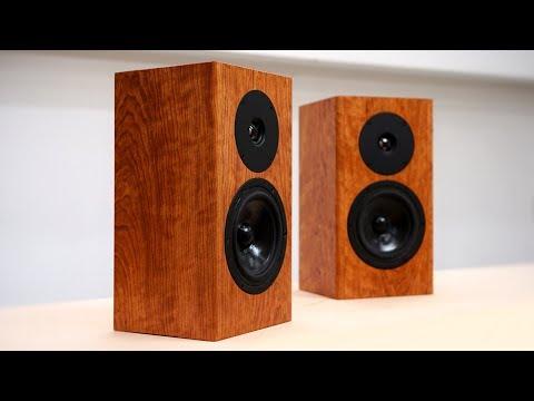 How To Make Bookshelf Speakers - Woodworking - DIY Speakers