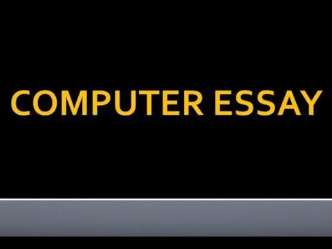 Видео Short computer essays
