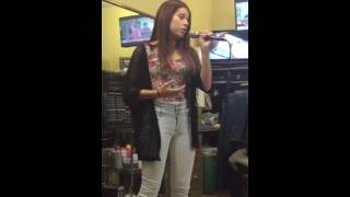 Jasmine singing All I Ask by Adele
