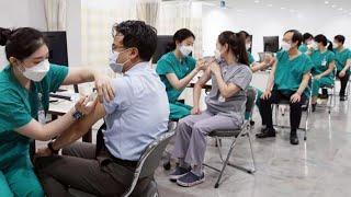 상급종합병원 백신 접종…