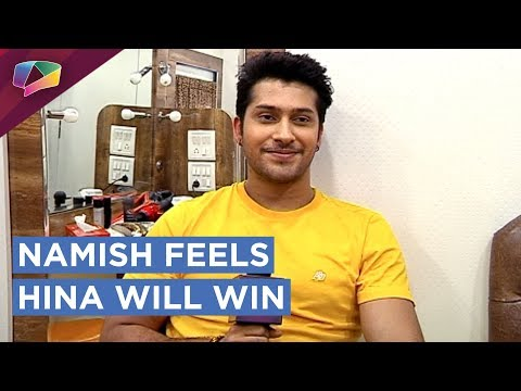 Namish Taneja Thinks Hina Khan Will WIN Bigg Boss 11 | EXCLUSIVE