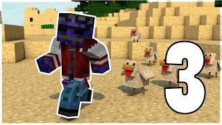Ace's World Minecraft - #3 Sincronizando portais e Lançador de galinhas 2000