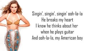Little Mix ~ 'American Boy' Lyrics Video [Track 8]