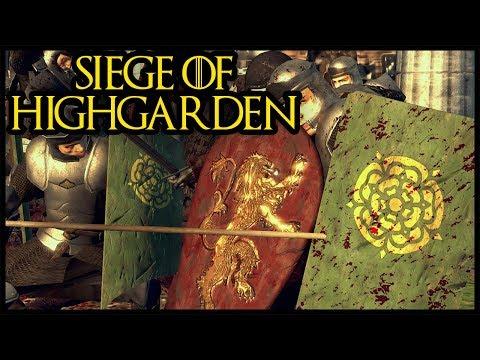 14,000 Man Siege Of Highgarden - House Tyrell Betrayed - Seven Kingdoms Total War