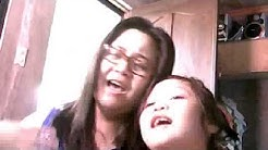Webcam video from 30 March 2013 9:06 mom and daughter