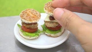 MiniFood Hamburger 食べれるミニチュアハンバーガー