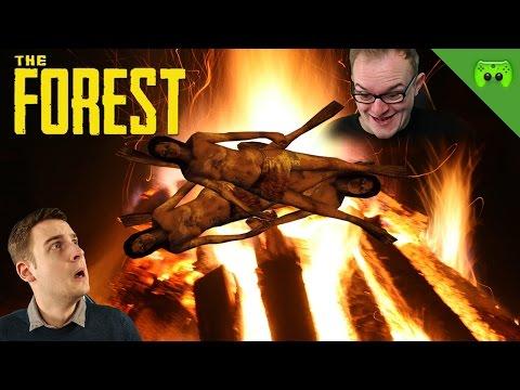 OSTERFEUER MIT EINGEBORENEN. TOLL! 🎮 The Forest Multiplayer #5