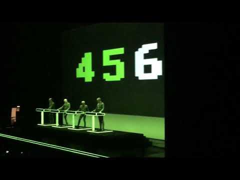 Numbers - Kraftwerk (3-D live, Tae Kwon Do Stadium, Athens,3/3/2018)