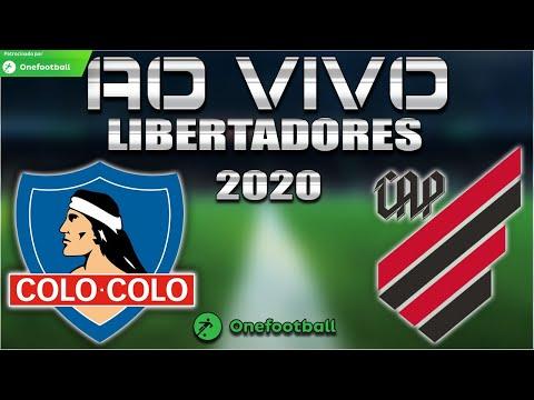 Colo-Colo x Athletico-PR Ao Vivo | Libertadores 2020 | 2ª Rodada | Narração