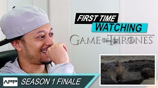 First Time Watching - Game of Thrones Season 1 Finale