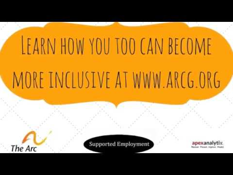 Arc of Greensboro Program Series - Supported Employment