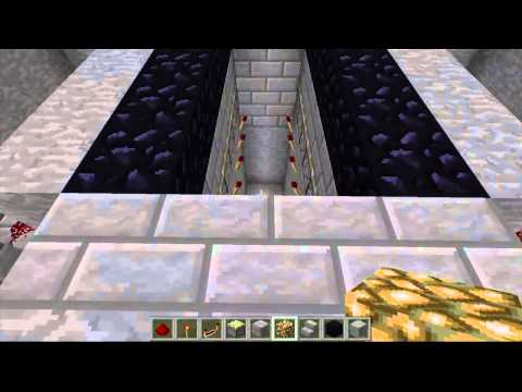 Minecraft - How To Build An Awesome Draw Bridge