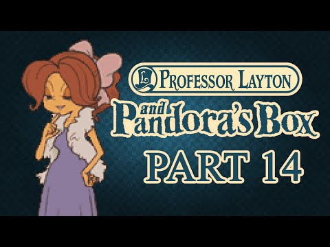 Professor Layton and Pandora's Box — Part 14 — Tea Time