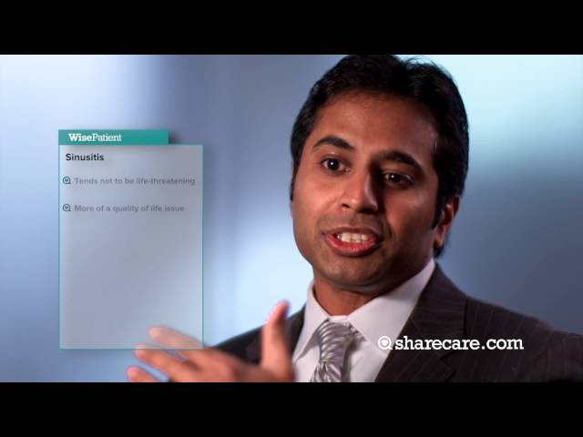 Dr. Satish Govindaraj Discusses Sinusitis