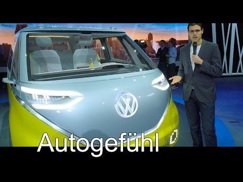 Volkswagen ID Buzz electric Bus Premiere T6 Transporter multivan concept review